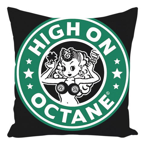 High on Octane® Classic Throw Pillow