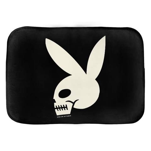 High on Octane® Skull Bunny Floor Mat