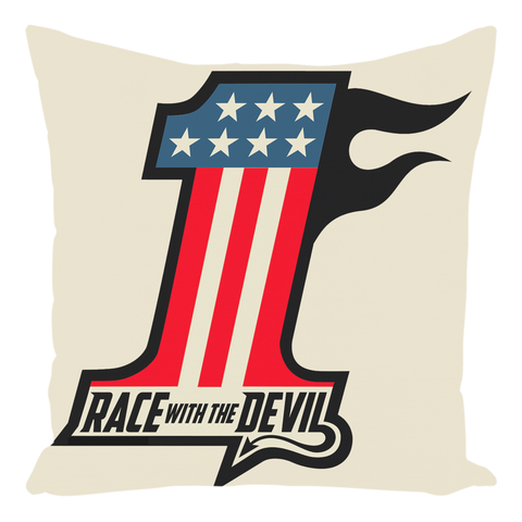 Race With The Devil® Throw Pillows