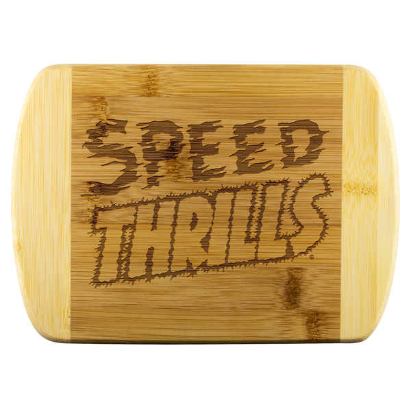 High on Octane® Speed Thrills Organic Cutting Board