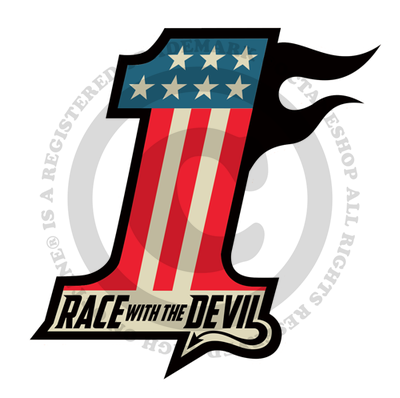 Race With The Devil No. 1 Sticker