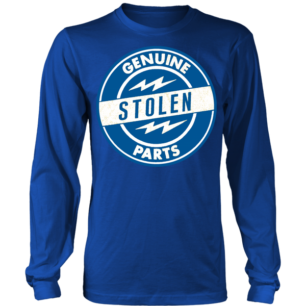 Unisex High on Octane® Genuine Stolen Parts Long Sleeve Shirt