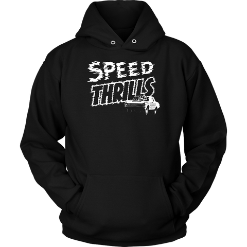 Unisex High on Octane® Speed Thrills Pullover Hoodie Sweatshirt