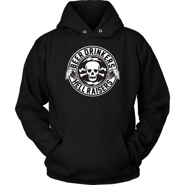 Unisex High on Octane® Beer Drinkers Pullover Hoodie Sweatshirt