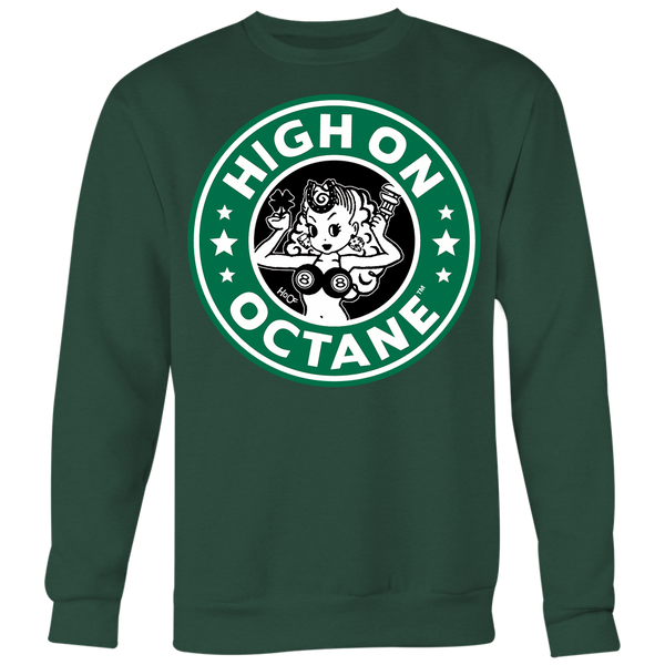 Unisex High on Octane® Greasy Luck Old School Sweatshirt