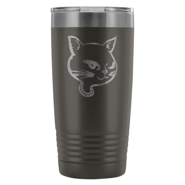High on Octane® Winking Kitty 20 Ounce Vacuum Tumbler
