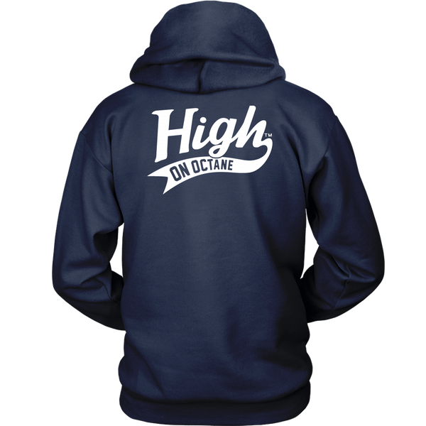 Unisex High on Octane® Genuine Stolen Parts Pullover Hoodie Sweatshirt