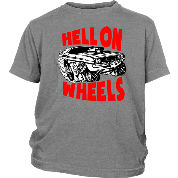 Youth High On Octane® Hell on Wheels T-Shirt