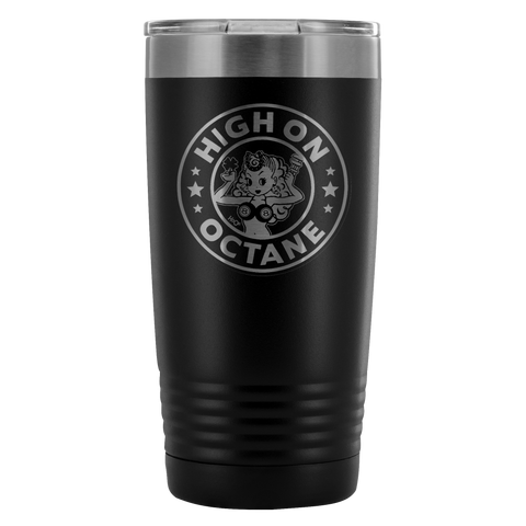 High on Octane® Lady Luck 20 Ounce Vacuum Tumbler