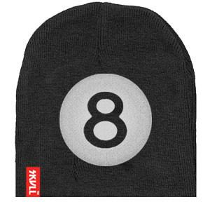 Eight Ball SKVLL Beanie Hat