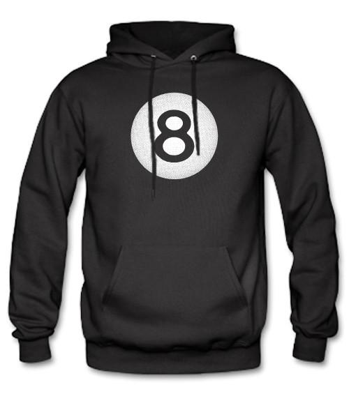 Men's High on Octane® Shady Eight Hot Rod 8 Ball© Pull Over Hoody