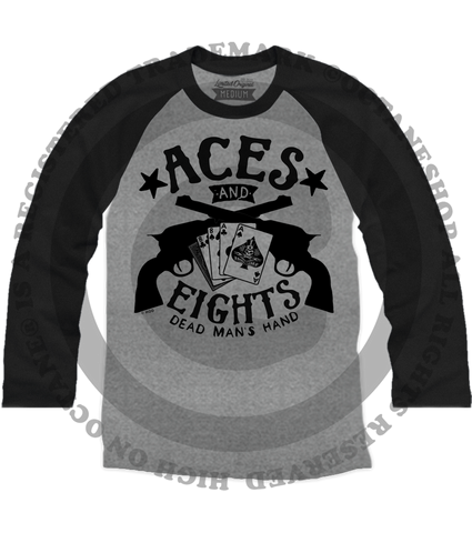 Men's High on Octane® Aces And Eights© Raglan