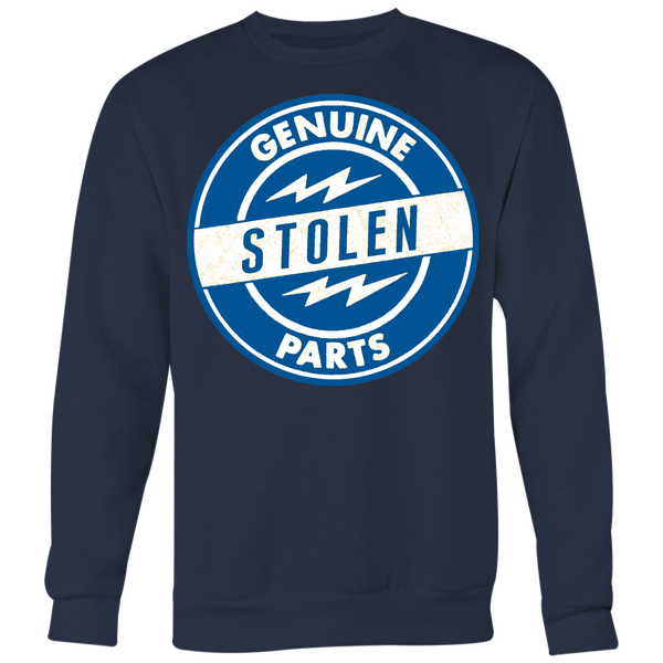 Unisex High on Octane® Genuine Stolen Parts Old School Sweatshirt