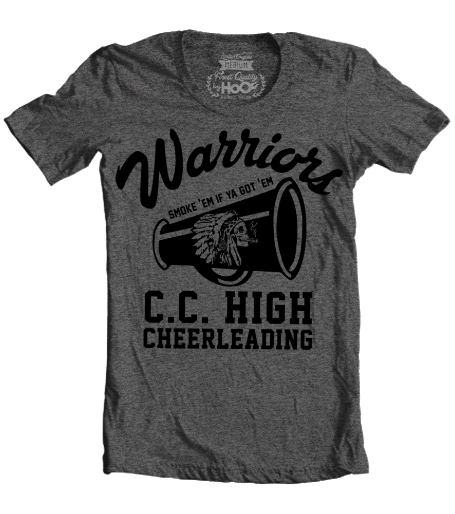 "Women's Race With The Devil ""Warriors CC High Cheerleading"" T-Shirt"