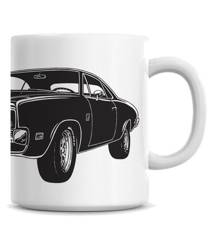 HoO High on Octane's Vintage Charger Muscle Car Coffee Mug