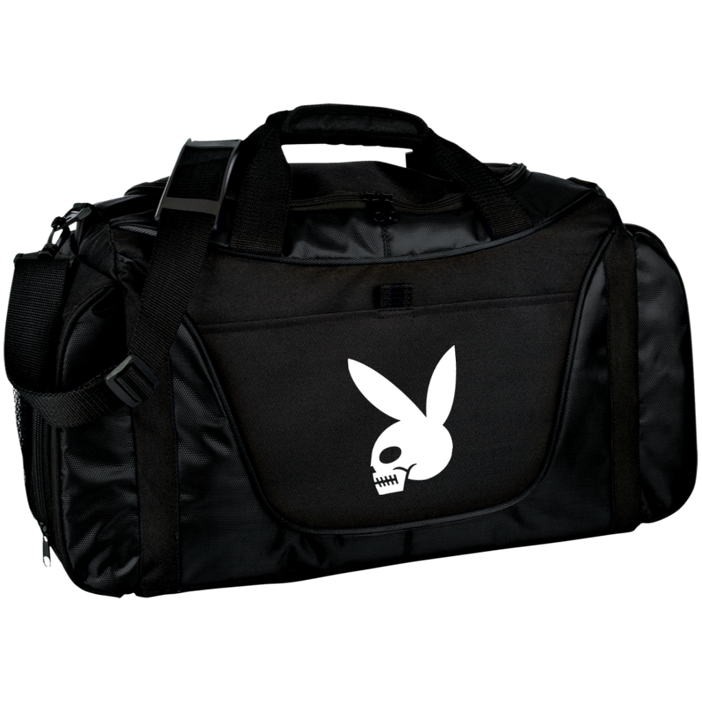 High on Octane® Skull Bunny Medium Color Block Workout Gear Bag