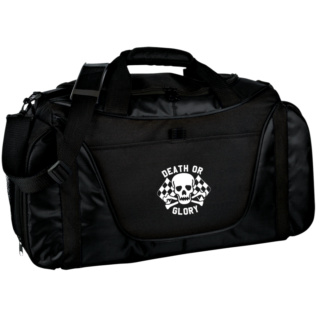 High on Octane® Skull Bunny Medium Color Block Gear Workout Bag