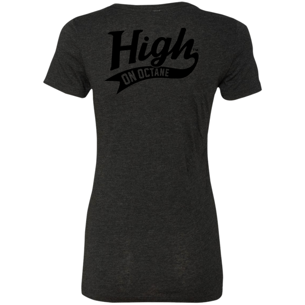 Women's High on Octane® Motor Angels Triblend T-Shirt
