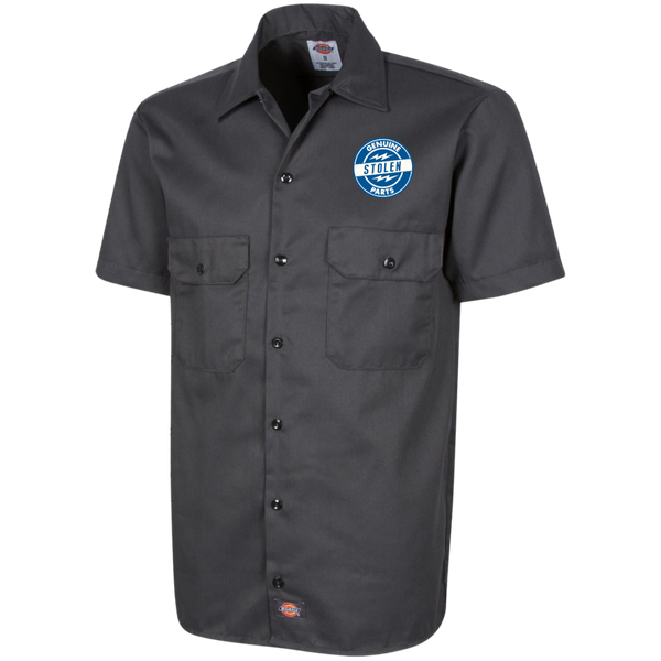 Men's High on Octane® Genuine Stolen Parts Dickies™ Men's Short Sleeve Workshirt