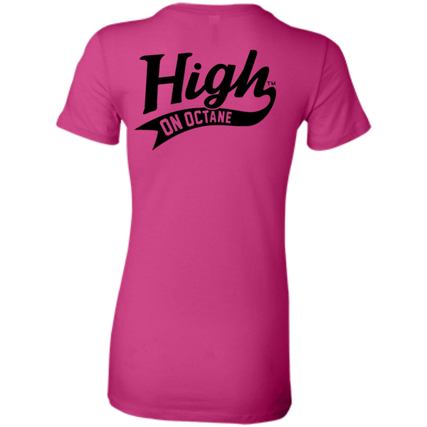 Women's High on Octane® Winking Kitty T-Shirt