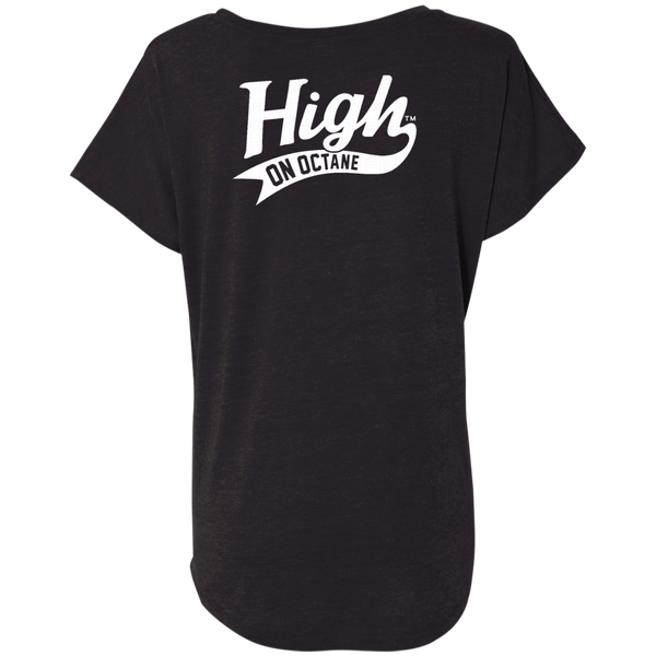 Women's High on Octane® Speed Thrills Triblend Dolman Sleeve