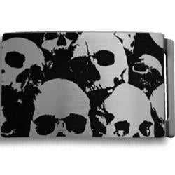 Multi Skull Metal Belt Buckle
