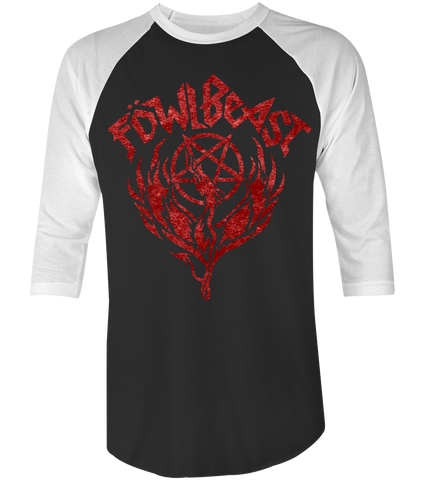 "Unisex Race With The Devil ""Fowl Beast"" Raglan"