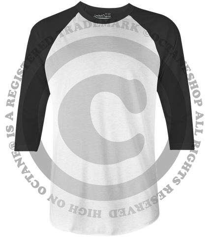 Custom Raglan Shirts Bulk ($12/pc)