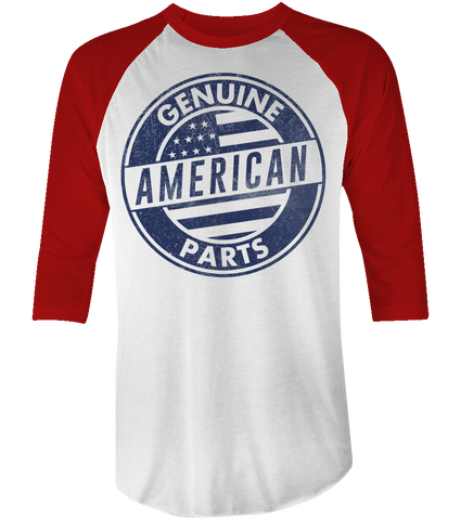 Unisex High on Octane® Genuine American Parts USA© Raglan