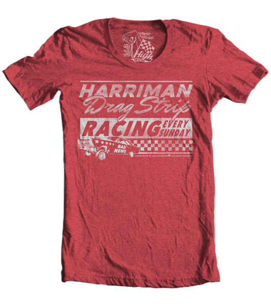 Unisex High on Octane® Harriman Drag Strip Racing T-Shirt