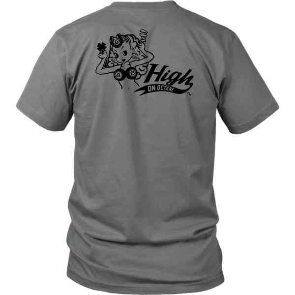 Unisex High on Octane® Live Fast Charger T-Shirt