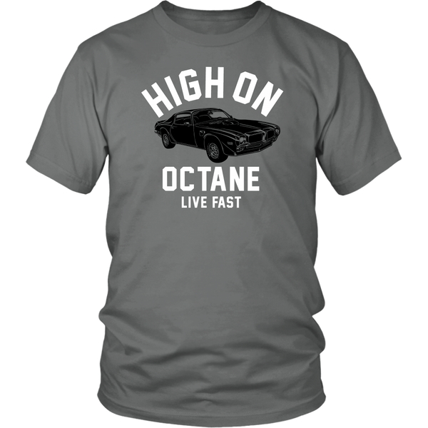 Unisex High on Octane® Live Fast Trans Am T-Shirt