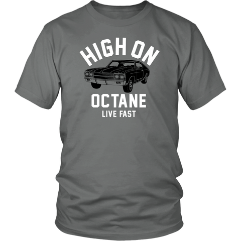 Unisex High on Octane® Live Fast Chevelle T-Shirt