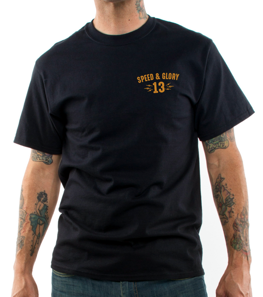 Men's Lucky 13 Wolfy T-Shirt