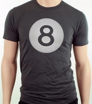 Men's HoO High on Octane Eight Ball Graphic T-Shirt