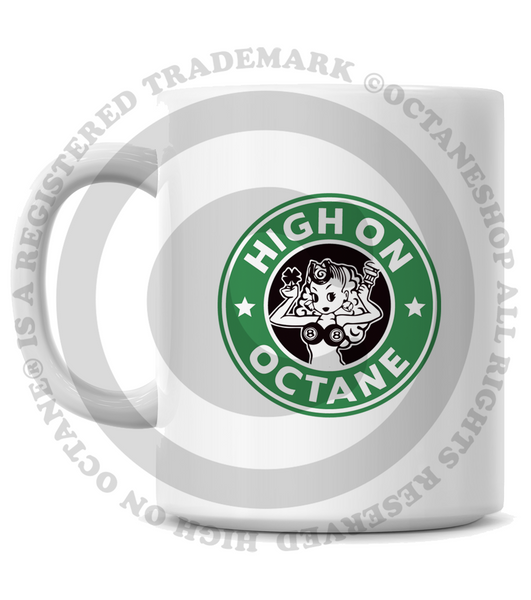 HoO High on Octane's Vintage Super Bee Muscle Car Coffee Mug