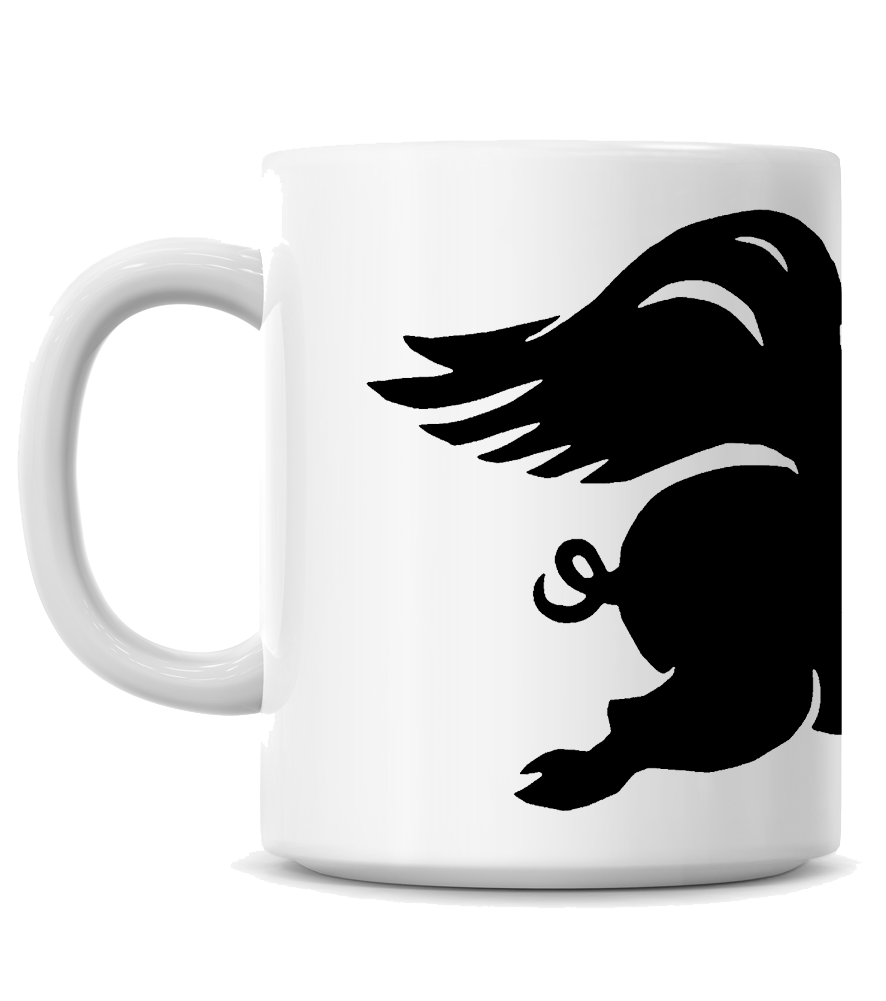 High on Octane® When Pigs Fly Coffee Mug