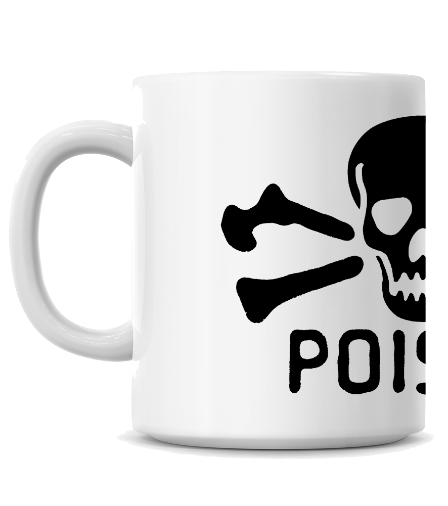 HoO High on Octane Poison Coffee Mug