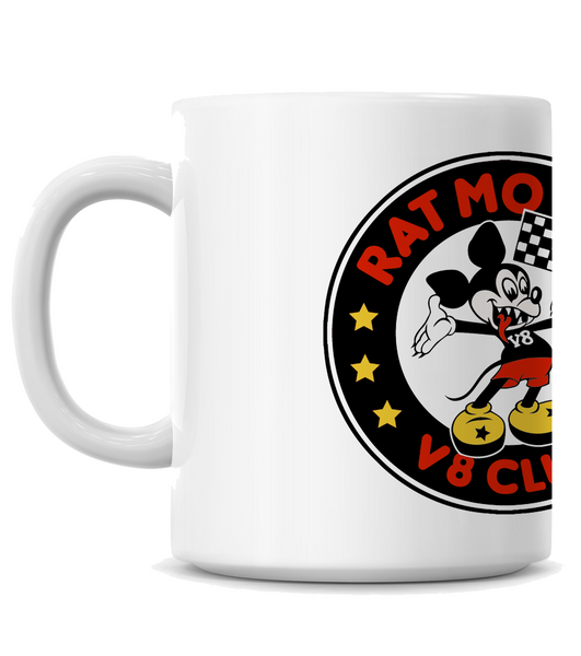 High on Octane® Rat Motor V8 Club Coffee Mug