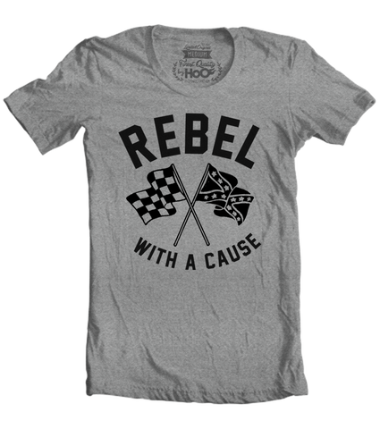Men's HoO High on Octane Rebel With A Cause T-Shirt