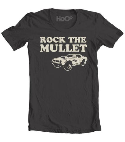 Men's Rock The Mullet Musclecar T-Shirt (Color Options)