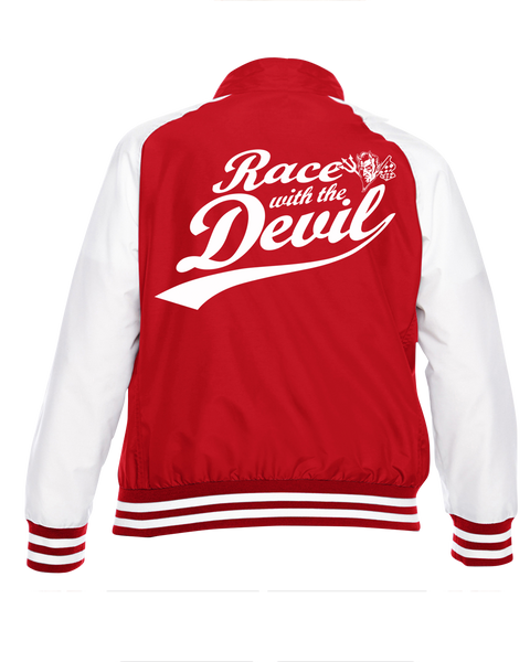 Women's Race With The Devil Classic Saint and Sinner Zip Up Jacket