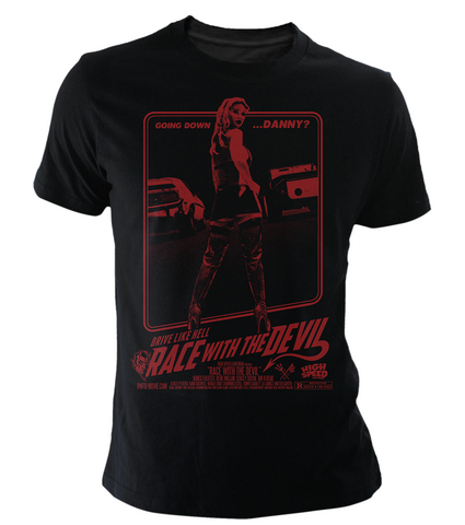 Unisex Race With The Devil Official Movie Poster T-Shirt (Color Options)