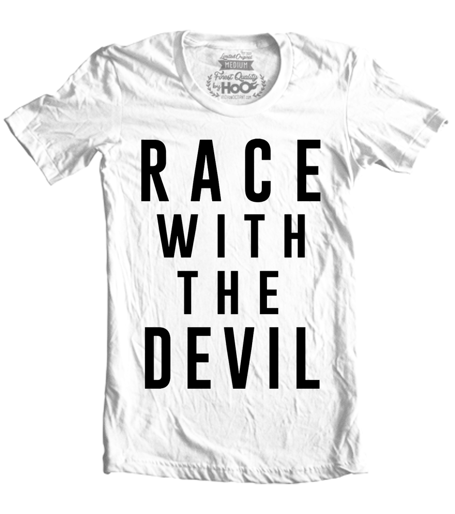 "Unisex Race With The Devil ""Evil Hipster"" T-Shirt"