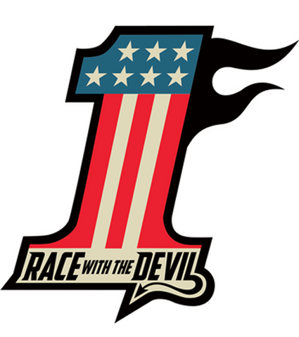 Race With The Devil No. 1 Window Cling