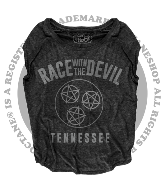 "Women's Race With The Devil ""Tennessee"" Loose Fit Short Sleeve Top"