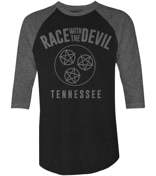 "Unisex Race With The Devil ""Tennessee"" Raglan"