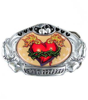Heartbreaker Metal Belt Buckle