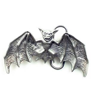 "Bat Belt Buckle (4""x2"")"