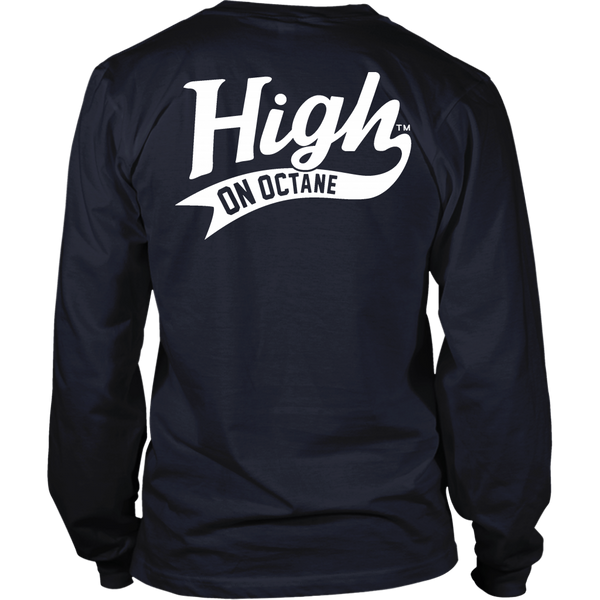 Unisex High on Octane® Faster V8 Long Sleeve Shirt